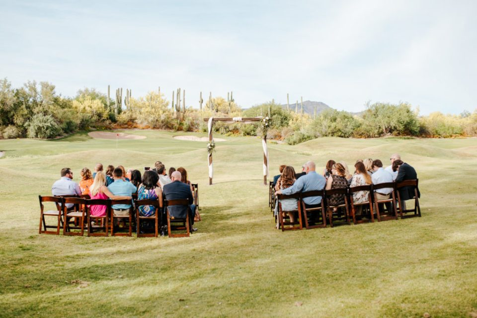 intimate wedding at Tonto Bar and Grill