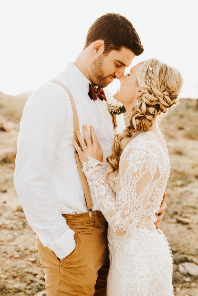 Arizona bridal session
