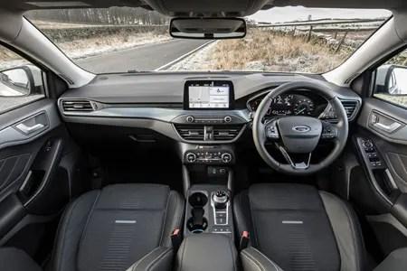 Ford Focus Active Hatchback 2021 Interior Dashboard Infotainment Parkers