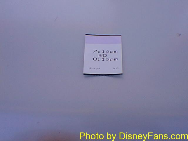 The original FASTPASS in 1999