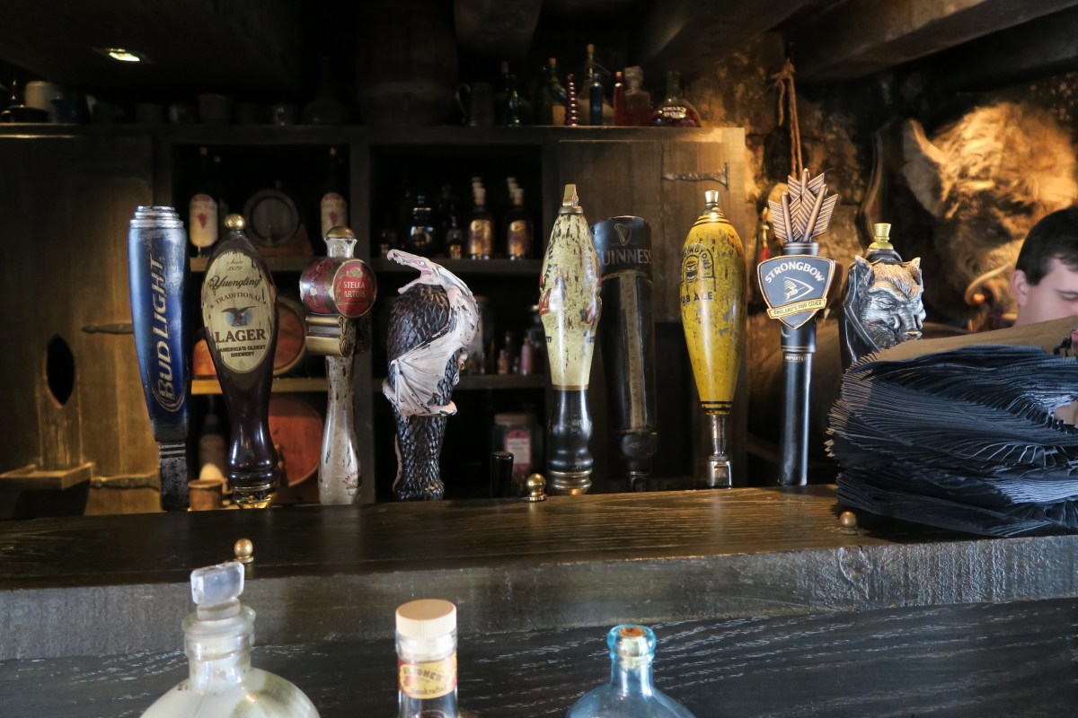 Park exclusive beers at Universal Studios Florida
