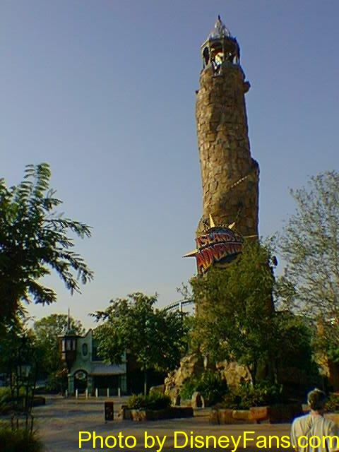 Universal's Islands of Adventure in 1999.