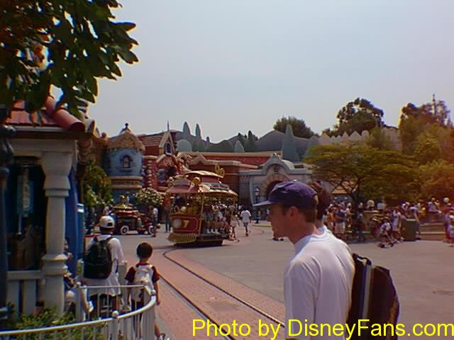 Toontown Jolley Trolley in 1996