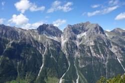 Die Ilmspitzen und das Kirchdach