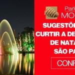Sugestões para curtir a decoração de Natal em São Paulo