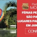 Férias perto de São Paulo Lugares para viajar em janeiro