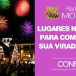 Lugares no Brasil para comemorar sua virada ano