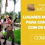 Lugares no Brasil para conhecer com os filhos