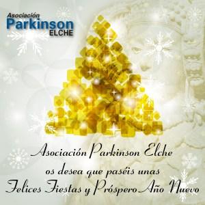 Felices Fiestas Asociación Parkinson Elche