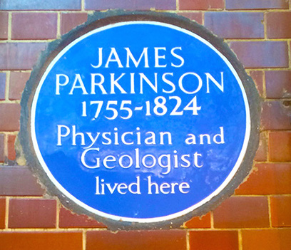 James Parkinson - blue plaque