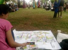 Sketsaku [photo by Ananta Wijaya]