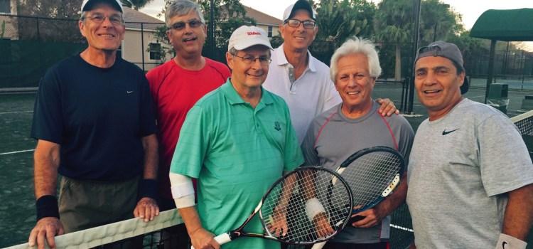 Coral Springs Tennis Center Defeats Parkland in Senior League Championship