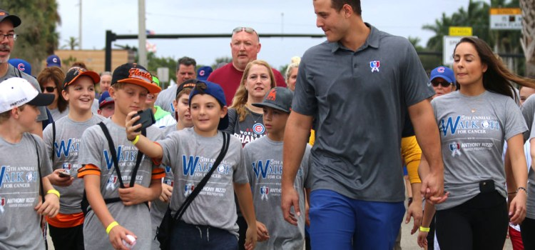 World Series Champion Anthony Rizzo holds 6th Annual Walk-Off For Cancer in Parkland