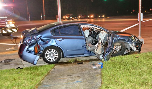 Five Injured in Two-Vehicle Collision