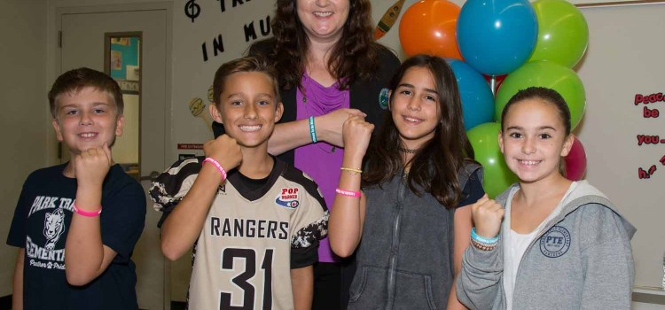 """Park Trails Elementary School Students """"Choose to be Nice"""" with Kindness Pledge"""