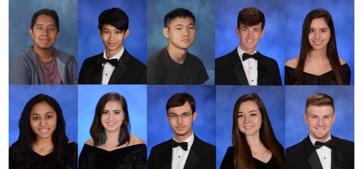10 National Merit Scholar Semifinalists From Marjory Stoneman Douglas