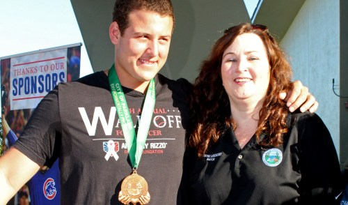 Chicago Cubs Anthony Rizzo Presented with 'Mayor's Medal' at His Annual Cancer Fundraiser