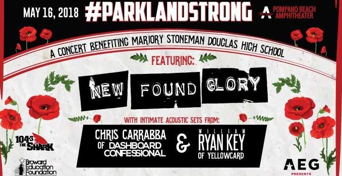 Parkland Strong:A Benefit Concert Adds New Performers to the Lineup