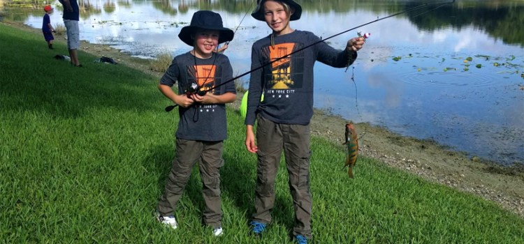 Parkland's Annual Youth Fishing Derby Scheduled Throughout Summer