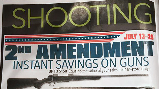 Bass Pro Shops Mails Gun Ads to Parkland Families with 'Shooting' Headline