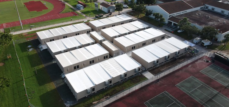 District Equips Marjory Stoneman Douglas with New Safety Enhancements and Portable Classrooms