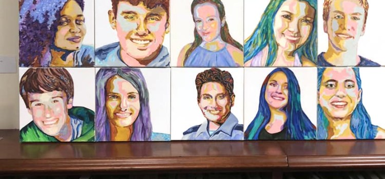 Parkland Mother Honors Marjory Stoneman Douglas Victims Through Art