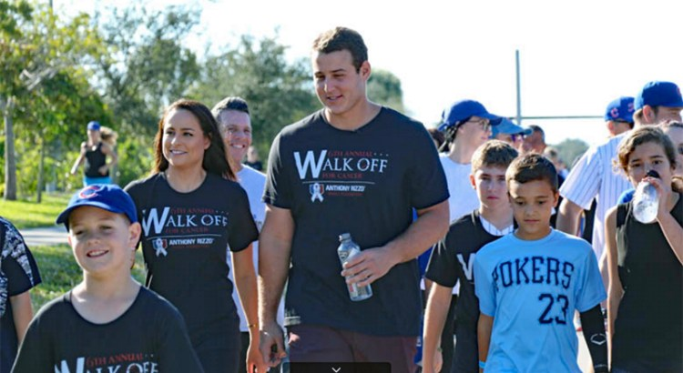 World Series Champion Anthony Rizzo holds 7th Annual Walk-Off For Cancer in Parkland