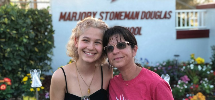 Student and Teacher's Project Blossoms into Memorial Area at Marjory Stoneman Douglas