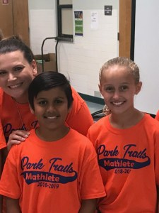Park Trails Elementary Teams Place in County-Wide Math Competition