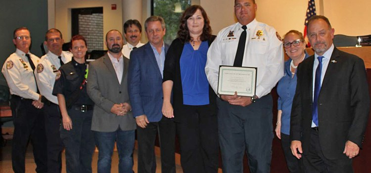 Commission Honors Coral Springs Parkland Fire Department