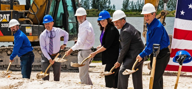 Groundbreaking Held for State-of-the-Art Clubhouse at Parkland Bay