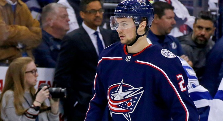 Parkland Native Signs Deal with Blue Jackets