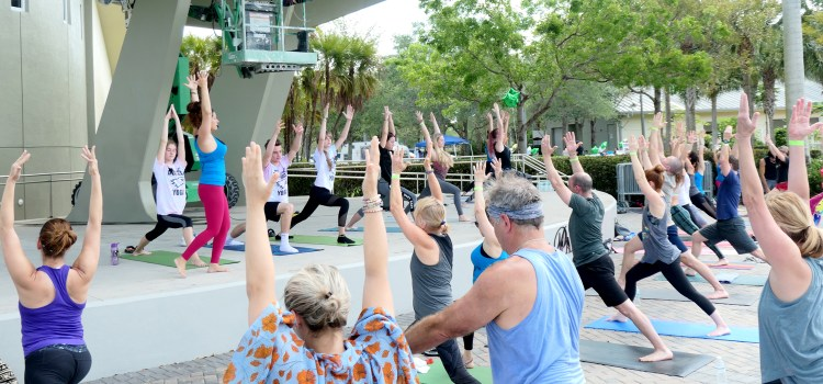 Parkland Yogathon Raises Money for Mental Health Awareness