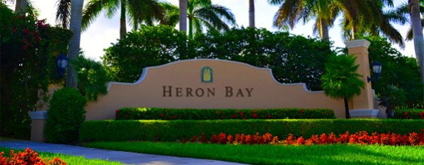 Heron Bay Entrance