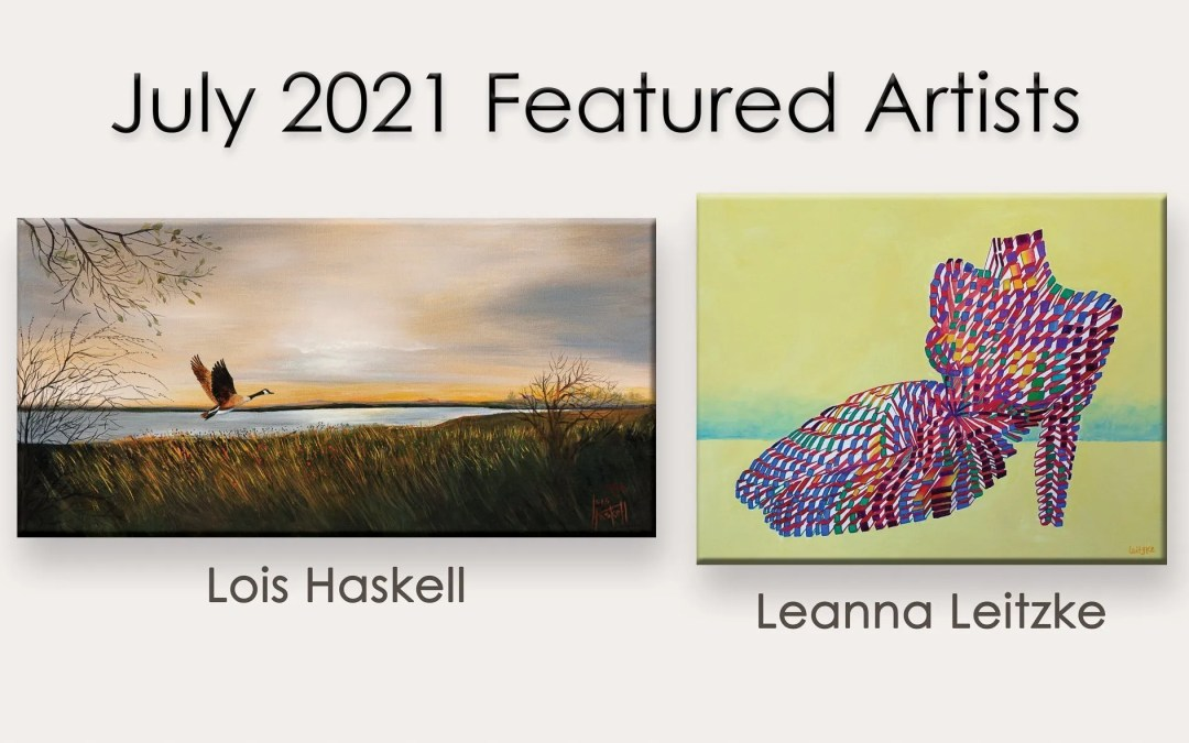 July, 2021 Featured Artists