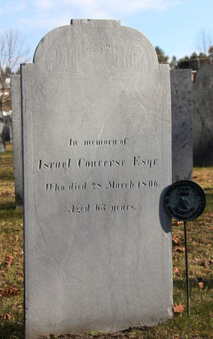 Israel Converse Capt American Revolution