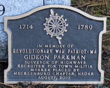 Gideon Parkman Revolutionary War Patriot 1714 1789 DAR Maine.jpg