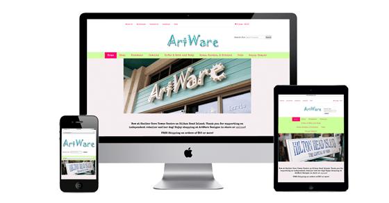 ArtWare Designs E-commerce Website