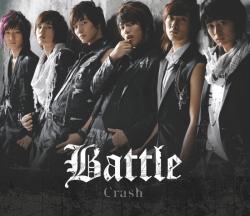battle - crash album cover