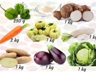 Panier Aissatou - 8 Légumes