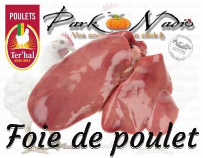 Foie de poulet - livraison à domicile