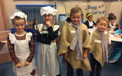 When year 2 went back in time… | Park Primary School