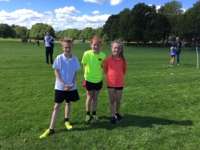 More Running Success in Park
