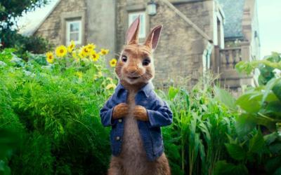 Peter Rabbit Cinema Visit