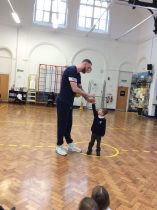 1DB's Photos With Britain's Tallest Man!