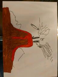 volcano art 14