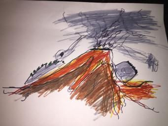 volcano art 156