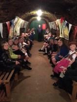 Emergency Evacuees Go Underground!