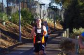 Just before my last minute charge to set a PB - Torrens (53)