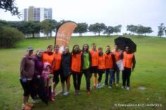 The volunteer team at my second volunteering stint! - St Peters